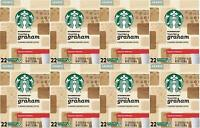 176 Starbucks K-Cups Toasted Graham  8 boxes x 22 Count Best By June 2020