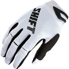 Shift  RACING Chad Reed #22 Replica Gloves MX Motocross  Mens White/Black 2XL
