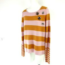 HMK Ladies Sweater Jumper Size 36 S Virgin Wool Cashmere Knit Np 189 New
