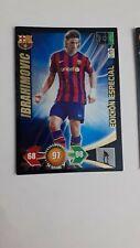Cromo Ibrahimobic 09 10 Adrenalyn xl Edición especial Album Liga BBVA 2009 2010