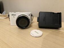 Nikon 1 J3 14.2MP Digital Camera - White with1 NIKKOR VR 10–30mm lens