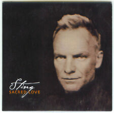 Sting - Sacred Love Promo CD Greece 2012 11 tracks