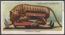 Tippoo's Mechanical Tiger India British East India Company 80 Y/O Trade Ad Card
