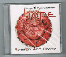 H.O.P.E - REASON AND DIVINE - CD 8 TRACKS - 2012 - NEUF NEW NEU