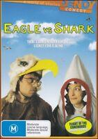 EAGLE vs SHARK (Loren HORSLEY Jemaine CLEMENT) NZ Romantic Comedy DVD NEW Reg 4