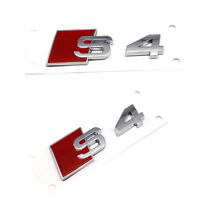 3D Alloy S4 S Line Car Tail Sticker Emblem Badge Logo Metal Rear Tail Badge Ehc