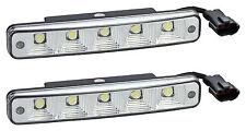 Fiat Tagfahrlicht 10 LEDs SMD E-Prüfzeichen E11 + R87 DRL 6000K
