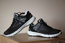 Ecco Danish Design Black Trainers Shoes Size UK 10 EUR 44