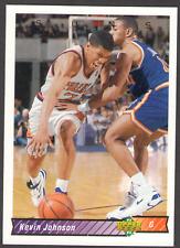 US. 1992-93. Upper Deck. #119. Kevin Johnson