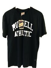 Russell Athletic Mens Black T Shirt Medium New with Tags
