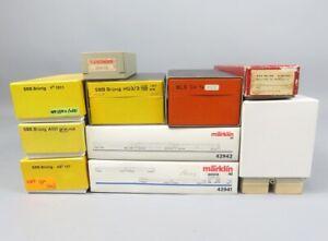 W 84485 Sammlung wertvoller H0 Originalkartons von HRF und Märklin