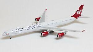 Phoenix Models 1:400 Virgin Atlantic Airbus A340-600 'Scarlet Lady' G-VRED