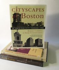 Cityscapes of Boston Carriage House to Auto House Back Bay Lost Boston 4 Vol Lot