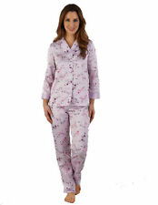 Polyester Pajama Sets Floral Sleepwear for Women