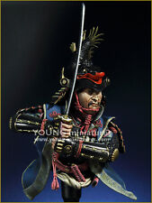 Young Miniatures, Daimyo Warlord, Resin Bust Kit, YH1844 New in Box