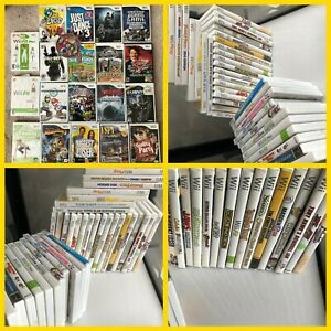 Nintendo Wii Games Complete Fun You Pick & Choose Video Games tested