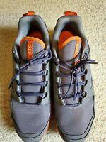 Adidas Outdoor Terrex Agravic orange gray black shoes lightly used 12.5 mens
