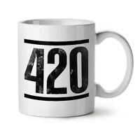 Time For Weed Symbol NEW White Tea Coffee Mug 11 oz | Wellcoda