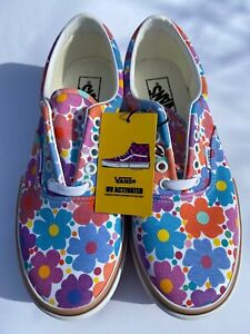 VANS ERA STACKED UV INK FLORAL SHOES MULTIPLE SIZES TIK TOK FAMOUS IN HAND 💐