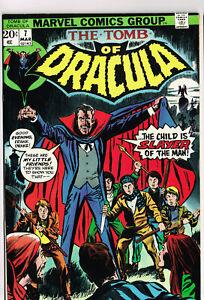 TOMB OF DRACULA #7 NM MARVEL COMICS 1973 HORROR VAMPIRES BRONZE AGE