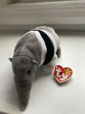 Ants the Anteater Ty Beanie Baby Dob November 7, 1997 2 errors Tush Tag Date