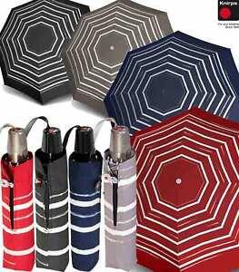 M/&P Taschen-Schirm Mini Regenschirm stabil Auf-Zu-Automatik Geometrico