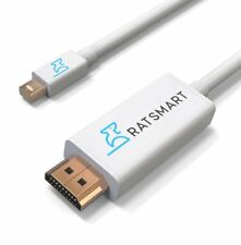 Thunderbolt Mini Display Port to HDMI Cable 15FT  Adapter for Apple Macbook