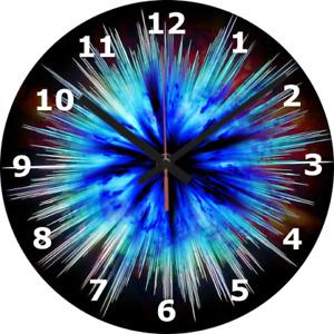 WALL CLOCK SPACE 25cm Big Bang Science Home Decor diy Bedroom Science 465