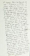 Ecrivain Marius BOISSON, 3 autographes / Belles lettres