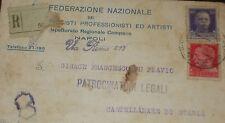 PNF FEDERAZIONE NAZIONALE DEI FASCISTI PROFESSIONISTI E ARTISTI NAPOLI  tst