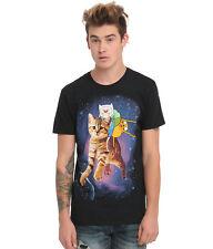 Adventure Time Finn Jake Space Cat T-Shirt