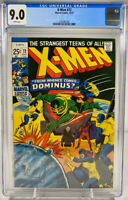 X-Men #72 (1971) Marvel CGC 9.0 White Pages Dominus
