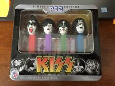 Pez KISS Limited Edition 4pc Set In Collectible Tin Live Nation Sealed NIB 2012