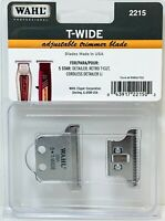 Wahl #2215 T-Wide Adjustable Trimmer Blade For Detailer & Retro T-Cut NEW
