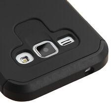 For SAMSUNG GALAXY SKY S320VL BLACK FUSION ACCESSORY COVER CASE + SCREEN FILM