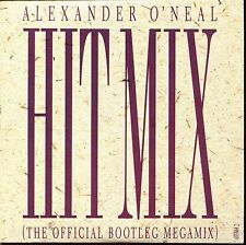 ALEXANDER O'NEAL - HIT MIX THE OFFICIAL BOOTLEG MEGAMIX CARDBOARD SLEEVE CD MAXI