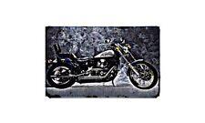 Fxstc 1340 Motorbike A4 photo Retro Bike