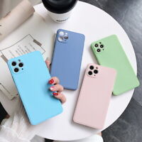 Shockproof Square Soft Silicone Case Cover For iPhone 11 Pro Max XS XR X 8 7 SE