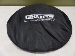 """FOVITEC STUDIOPRO 59"""" X 78"""" IN BLUE POP-OUT MUSLIN BACKDROP & CASE"""