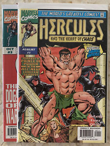 HERCULES AND THE HEART OF CHAOS #1-#3 SET (NM-) THOR, MARVEL COMICS