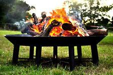 Huge Steel Garden Polygon Fire Pit Fire Bowl, Unique Design, Nine Legs, Nonagon