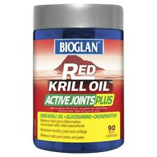 Bioglan Red Krill Oil Active Joints Plus Capsules 90