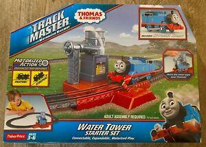 2014 Thomas & Friends Motorized Railway Water Tower Starter Set-NEW Track Master