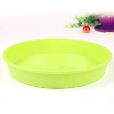 Round Silicone Cake Pan Oven Heat Resistant Pastry Mold Cake Tool Pizza Mould BH