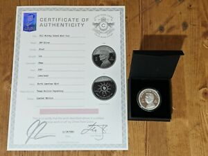 The Chive Bill Murray Island Mint Silver Coin w/COA & Box. Sold Out LTD edition.