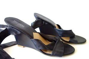Michael Kors Leather Sandals Designer Wedges size 38