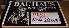 BAuhaus-ORIGINAL In The Flat Field-Oct 20, 1980 Leeds UK. Concert/Tour Poster