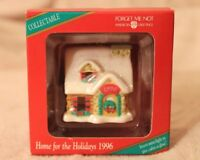 NIB Vtg '96 Forget Me Not American Greetings Christmas Ornament Home for Holiday
