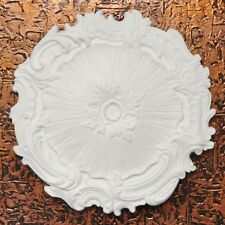 Decorative Ceiling  Rosette Styrofoam Lightweight Easy To Paint R7 White SALE!!