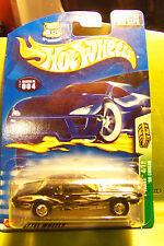 Hot Wheels Treasure Hunt 68 Black Cougar 2003 Yellow Tinted Windows Chrome Hubs